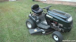 Yard Machine Mower Deck Diagram by Bolens 15 5 Hp Manual 38 Quot Cut Lawn Tractor Itemsea Youtube
