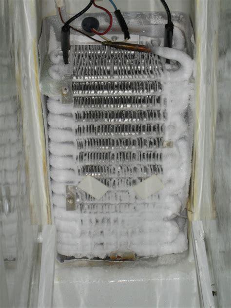 refrigerator fan not running refrigerator back is cold always running but not