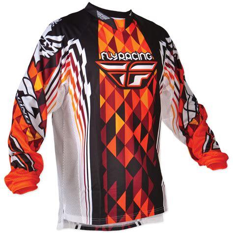fly motocross jersey fly racing 2012 youth kinetic mx race shirt mtb enduro