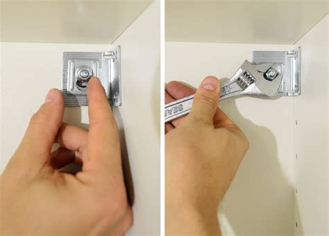 cabinet mounting screws lowes how to hang ikea cabinets young house love