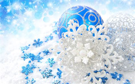 9 blue and silver christmas ornaments merry christmas
