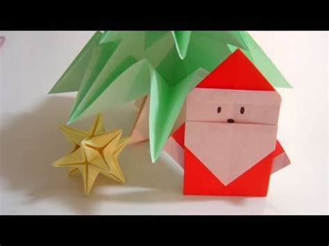 simple origami santa claus papai noel de origami