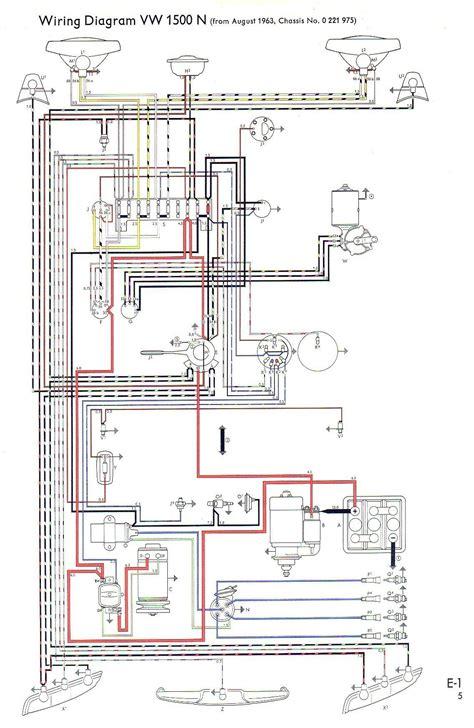 1993 Vw Beetle Wiring Diagram by Vw Type 3 Wiring Diagrams