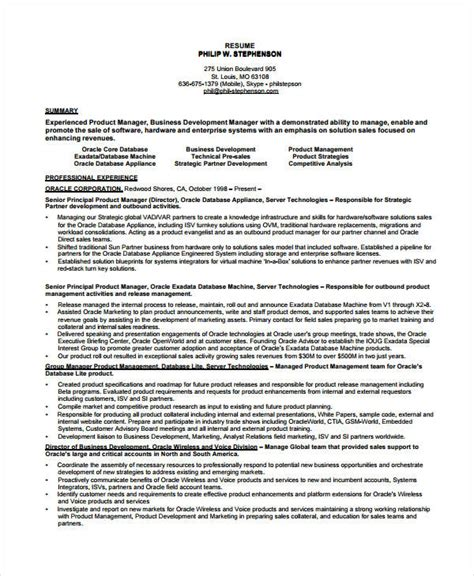 Best Product Manager Resumes by Resume For Product Manager