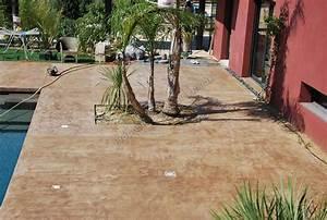 photos de sol beton cire en exterieur With terrasse exterieur beton cire