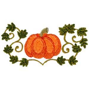 Penguin Pumpkin Designs by Free Embroidery Design Pumpkin Amp Vine