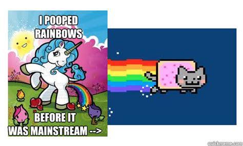 Unicorn Rainbow Meme - unicorn poop memes
