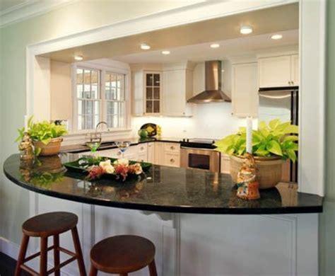 plan cuisine moderne plan de travail arrondi pour bar maison design bahbe com