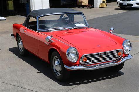 1966 HONDA S600 CONVERTIBLE