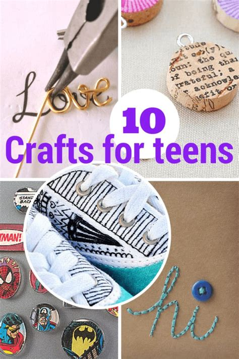 terrific crafts  teens