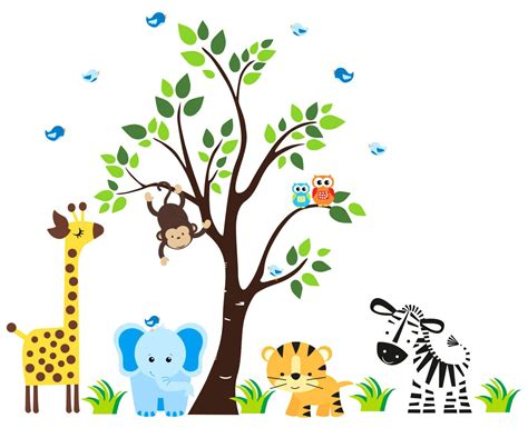 Baby Jungle Animals Wallpaper - jungle for wallpapers photo gt yodobi