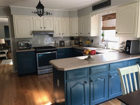 Painting My Kitchen Cabinets With Chalk Paint  Wow Blog