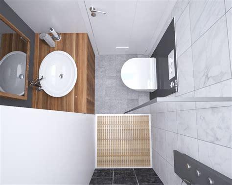 Kleines Bad Platz Sparen by Badezimmer Konzept Mit Dusche Und Wc Platz Sparen Im Bad