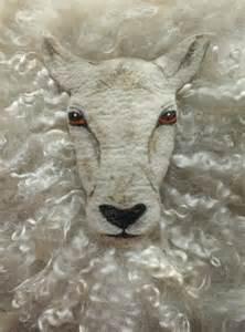 Needle Felted Sheep Pattern