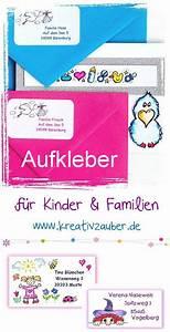 Aufkleber Für Kinder : aufkleber f r kinder und familien ~ Kayakingforconservation.com Haus und Dekorationen