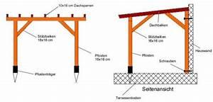 Holz Pergola Selber Bauen : terrassendach holz selber bauen ~ Lizthompson.info Haus und Dekorationen