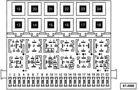 Vw Jettum 2006 Fuse Box Diagram by Solved Vw Jettta 2006 2 5 Fuse Diagram Fixya