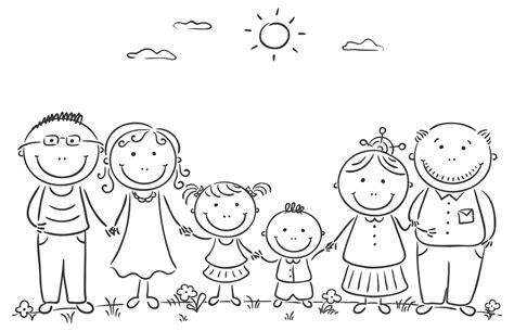 disegno da colorare  famiglia blogmammait blogmammait