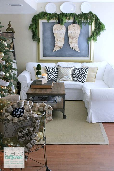 A Very Merry Christmas Home Tour and Blog Hop   Chic California