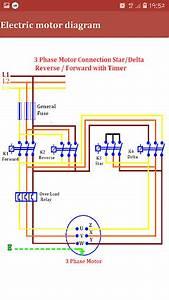 3 Phase Star Delta Motor Wiring Diagram