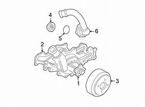 Ford Aerostar Engine Coolant Thermostat Gasket  4 0 Liter