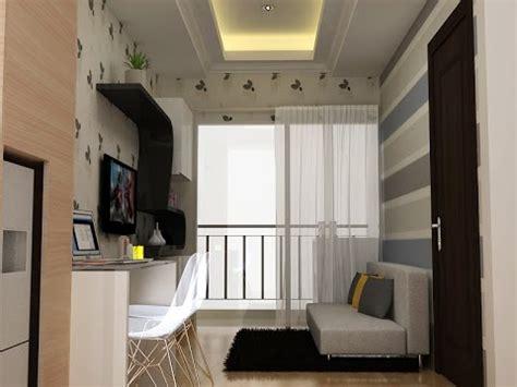 desain interior apartemen saveria bsd city youtube