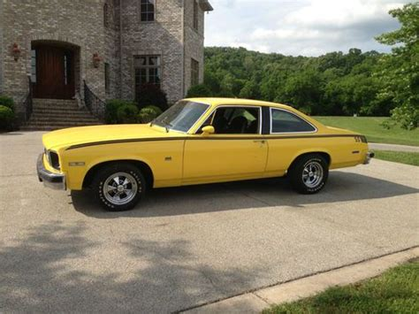 Find Used 1976 Chevy Nova Custom  Runs, In Good Condition