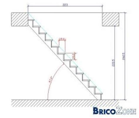 angle d un escalier comment calculer l angle d un escalier