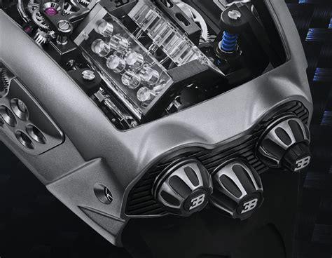 Chiron tourbillon translates the $3 million usd chiron hypercar in wristwatch form. Jacob & Co. Bugatti Chiron Tourbillon Encapsulates A Working W16 Engine | aBlogtoWatch