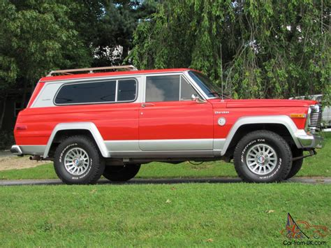 jeep chief 1979 rare classic 1979 jeep cherokee chief s model