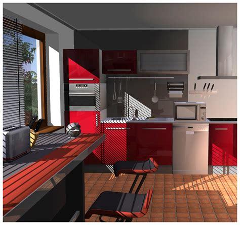 cuisine en 3d facile cuisine salle de bains 3d