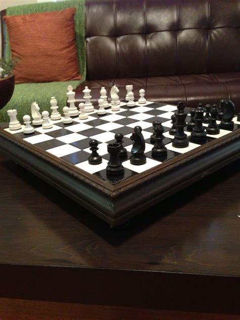 Handmade Lake Side Chess Set By Custom Chess And Handwork By