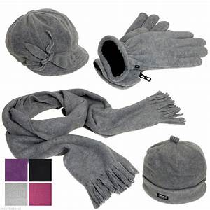 Pia Rossini Ladies Girls Winter Hat Cap Gloves And Scarf