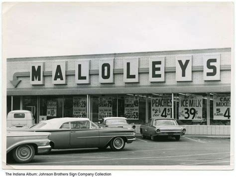 fort wayne indiana grocery 1960 maloley childhood prices record signs early window forts castles circa michigan illinois ohio towns infancy