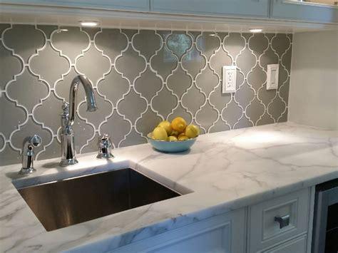 How To Tile Backsplash With Glass Tile : Diy Mosaic Tile Backsplash Kitchen Porcelain Installing