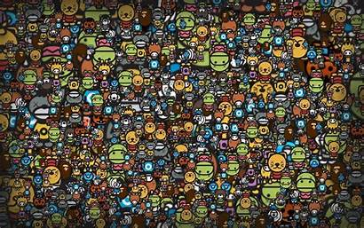 Funny Anime Backgrounds Wallpapers Desktop Heads Cave