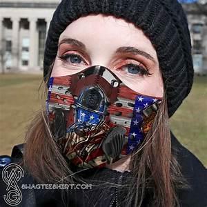 Firefighter Life Filter Carbon Face Mask