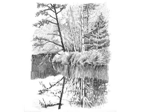 Pencil Drawing Landscape Photos Business Card Kitchen Water Bottle Labels Lawyer Personal Templates For Word 2010 Cards Luxury Uk Kingdom Holder Transparent Material From Kinkos