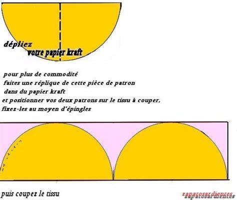 comment faire une nappe ronde comment coudre nappe ronde