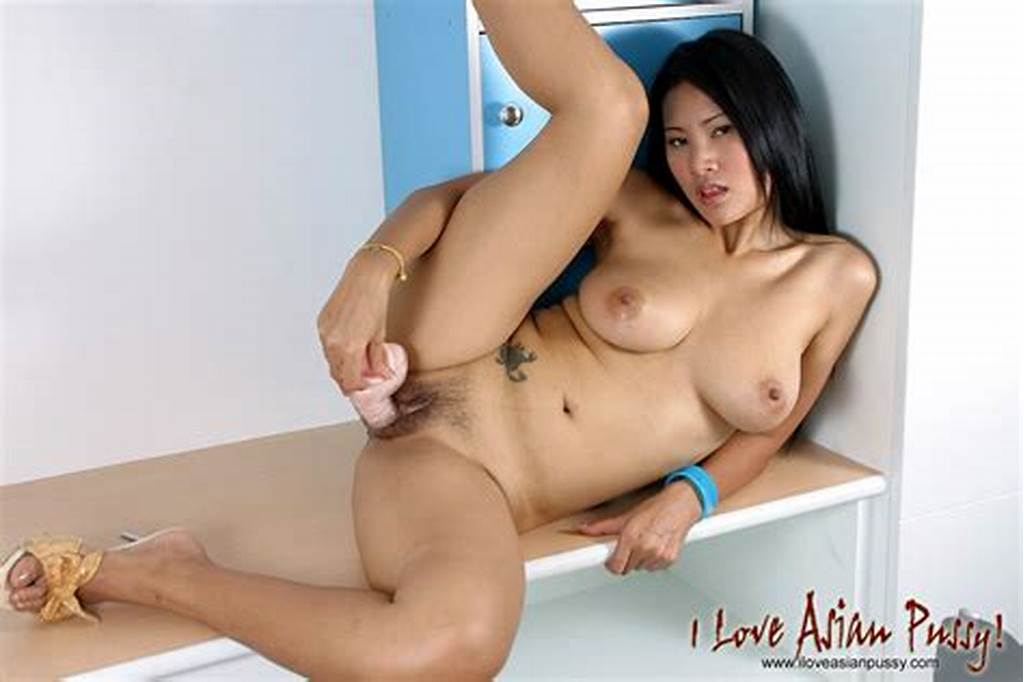 #Lovely #Asian #Babe #With #Delicious #Big #Tits #Drills #Her #Meaty