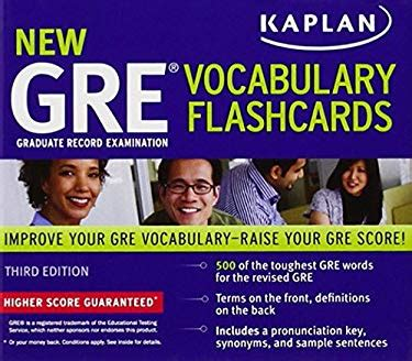 Kaplan New Gre Vocabulary Flashcards By Kaplan  Reviews, Description & More Isbn
