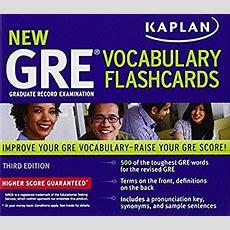 Kaplan New Gre Vocabulary Flashcards By Kaplan  Reviews, Description & More Isbn