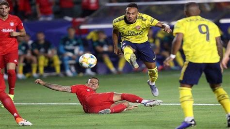 Live Score Hasil Babak Pertama Arsenal vs Bayern Munchen ...
