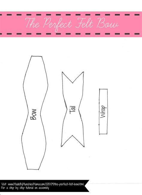 Ashe Bow Template by Template Of A Bow Choice Image Professional Report