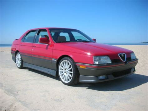 Alfa Romeo 164s by 1991 Alfa Romeo 164s Bring A Trailer