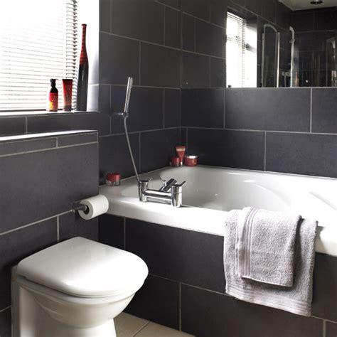bathroom tile ideas 2011 bathrooms with black tiles on black bathrooms