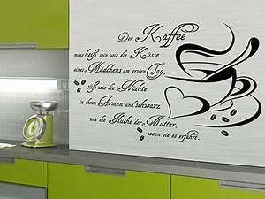 Wandtattoo Sprüche Küche : wandtattoo essen spr che f r die k che bei ~ Frokenaadalensverden.com Haus und Dekorationen