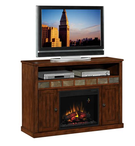 entertainment system with fireplace 52 sedonia caramel oak entertainment center electric 7069