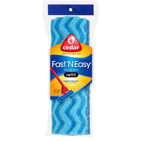 o cedar mop refill o cedar fast n easy roller sponge mop refill ebay