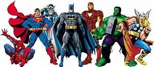 Superheroes page 1